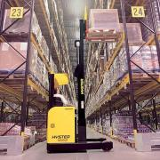 The driver of the fork-lift Reach Truck (Poland)