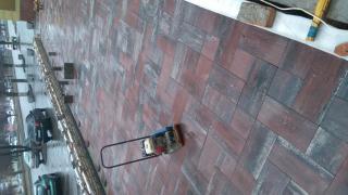 Укладка тротуарной плитки в Днепропетровске