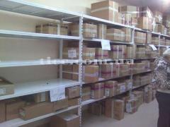 Warehouse racks, metal shelving racks